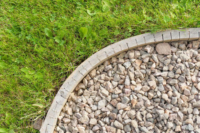 piedras jardín decoración
